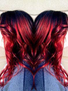 Hair by Kelsey Griebling at fringe salon wichita Kansas