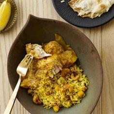 Lemon-Cashew Rice