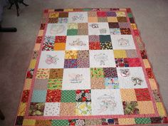 The Way I Sew It: Fruit and Veggie Quilt Finish