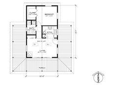 David Wright, Architect | 720 sq ft