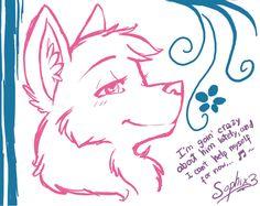 cute wolf practice C: by sophix3 on deviantART Cute wolf drawings Drawings Wolf drawing