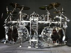 Disturbed drum kit