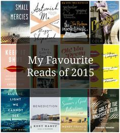 Favourite 2015 Reads