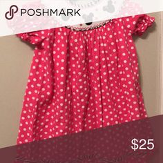 Euc Minnie Mouse smocked dress by three sisters Euc three sisters smocked three sisters Dresses Casual