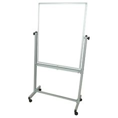 Mobile Reversible Magnetic Whiteboard - 4'H x 3'W at SCHOOLSin