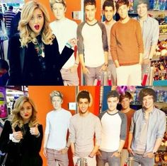 Parrie with one direction