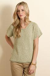 Tahki Aruba Dallas Top Knitting Pattern PDF