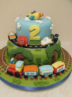transport cake - CakesDecor