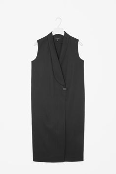 Sleeveless blazer dress