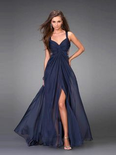 Dress Robe dos nu open back