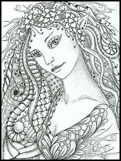 fairy tangles  ARTIST NORMA J BURNELL  http://fairytangles.blogspot.com