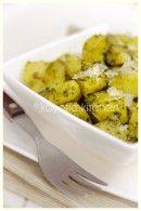 Parsley & garlic potatoes