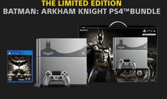 Introducing The Limited Edition Batman: Arkham Knight PS4 bundle