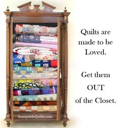 LIKE us on Facebook: www.facebook.com/SunnysideQuilts OR Visit our store: http://stores.ebay.com/SunnysideQuilts Quilts are made to be LOVED.