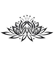 flower black and white drawing - Pesquisa Google