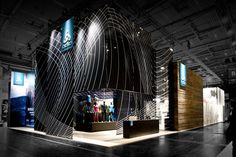 ODLO stand by Laborrotwang, Munich exhibit design