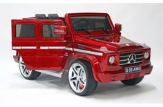 New 2015 Model Ride on Car Mercedes High Doors Licensed Toy for Kids Boys and Girls with Music Lights Leather Seat Rubber Tires Red -- You can get additional details at the image link. Mercedes G55, Jeep Doors, Doors Music, Kids Ride On, Ride On Toys, Light Music, Rubber Tires, Tricycle, Kids Toys
