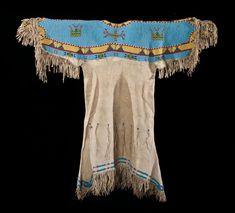 Lakota Indian Women Clothing   What did the teton Sioux wear?