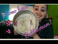 ¿COMO HACER BETÚN DE MANTEQUILLA? Buttercream ♡ Aprendiendo Reposteria - YouTube