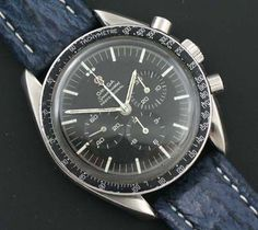 Omega Speedmaster Moon watch circa 1967.  I'm drooling here.  Really.   What a beautiful watch.  They literally don't make 'em like this anymore.