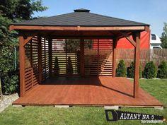 Garden Buildings, Garden Structures, Outdoor Structures, Gazebo, Pergola, Hot Tub Deck, Tiny House Living, Exterior, Outdoor Decor