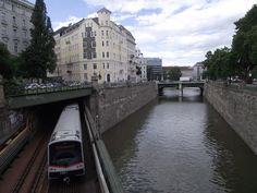 Wienfluss is the colloquial name for the Wien River which flows through Vienna. Vienna, Austria, River, Rivers