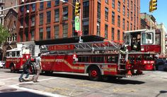 """FDNY Ladder 6 Chinatown   """"Dragon Fighters""""   by NYC Firestore"""
