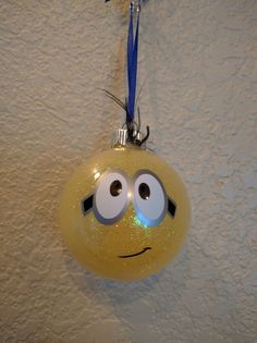 Minion Christmas Ornament by ColoCustomCreations on Etsy