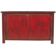Leizu Sideboard in Red