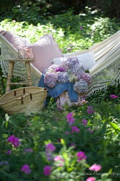 12 Beautiful Bohemian Style Hammocks for Summer - French Country Cottage