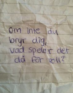 vi kommer vara döda en evighet efter det här Some Good Quotes, Sad Love Quotes, Life Quotes, Broken Heart Messages, Hard To Love, Love You, Swedish Quotes, Sad Texts, Different Quotes