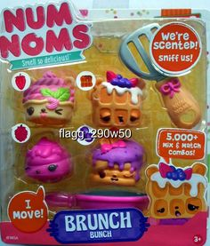 *Num Noms* BRUNCH BUNCH SCENTED 5 PACK SET- Series 2 in Toys & Hobbies, TV, Movie & Character Toys, Other TV/Movie Character Toys | eBay