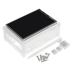 3.5 inch TFT LCD Touch Screen + Protective Case + Heatsink+ Touch Pen Kit For Raspberry Pi 3/2/3 Model B/3 Model B+ Sale - Banggood.com 3d Printer Supplies, Photography Camera, Diy Kits, Arduino, Protective Cases, Raspberry, Touch, Electronics, Model