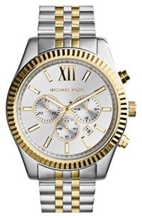 online shopping for Michael Kors Large Lexington Chronograph Bracelet Watch, from top store. See new offer for Michael Kors Large Lexington Chronograph Bracelet Watch, Men's Watches, Luxury Watches, Cool Watches, Watches For Men, Stylish Watches, Fossil Watches, Elegant Watches, Wrist Watches, Watches Online