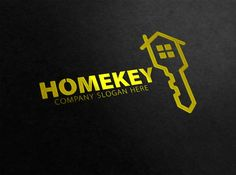 House Key Logo by eSSeGraphic on @creativemarket