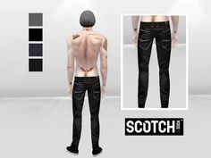 McLayneSims' Dark Mob Denim Jeans