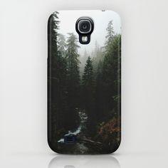 Rainier Creek Galaxy S4 Case by Kevin Russ - $35.00