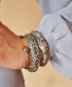 Silver Sororum Cuff