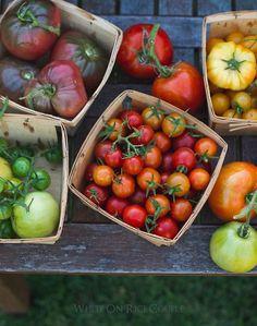 Heirloom Tomato Galette Recipe- perfect for Summer tomato season