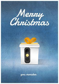 Merry Christmas, you monster. #Portal