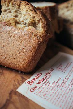 Homemade Oat Wheat Bread