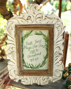 First you'll need an invitation, of course. | This Peter Pan Wedding Will Make You Feel Like A Kid Again