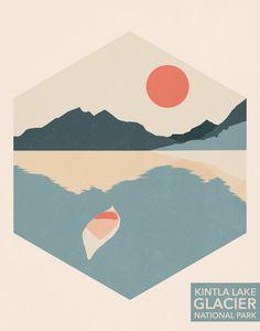 Glacier National Park // Kintla Lake // Mackenzie McKinney Designs