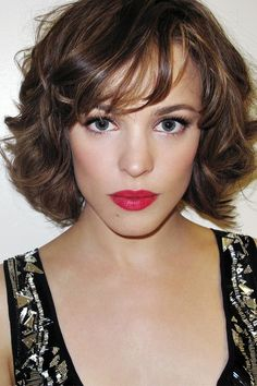 short wedding hairstyles celebrity inspired bridal beauty and Fitness, Wedding Hair, Hair Inspiration Great Hairstyles, My Hairstyle, Wedding Hairstyles, Layered Hairstyles, Bob Hairstyles, Hairstyles Pictures, Makeup Hairstyle, Short Haircuts, Pelo Bob