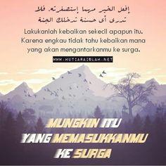 Mungkin amalan itu yang akan memasukkanmu ke surga. Muslim Quotes, Islam, Ramadan, My Love, Kawaii, Instagram, Anime, Anime Shows