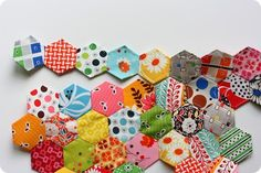 All the different methods of EPP hexies and how they turn out