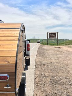 Welcome to Colorado!!  My teardrop camper is happy to be back where it came from.