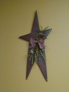 So in love with this wooden star!