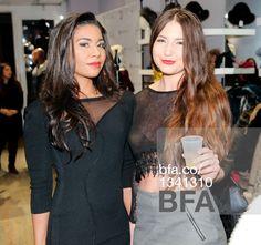 Jessica Pimentel, Lidia Zamelukhi at Fashion night out with STELLA & JAMIE & JESSICA PIMENTEL from Orange is the New Black. #BFAnyc #Foravi #StellaAndJamie #JessicaPimentel #LidiaZamelukhi