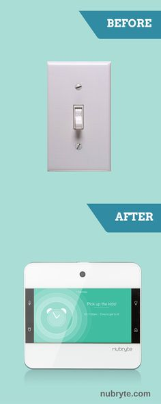 Turn your light switch into an all-in-one Smart Home! Home security, automated lighting, wireless intercom...and more!
